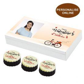 Round Shaped Personalized Chocolates