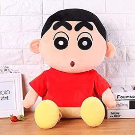 Shin Chan Soft Toy Red