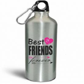 Sipper Water Bottle (Friend Forever)