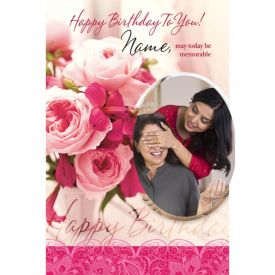 May today be memorable Mom's Birthday Special Greeting Card