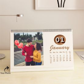 Table Calendar Personalized With Photos