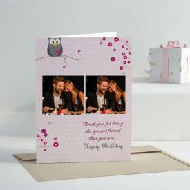 Personalised Birthday Card For Friends
