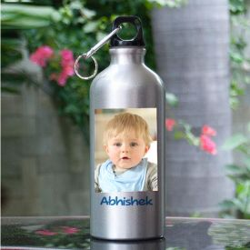Personalized Cap Sipper Water Bottle