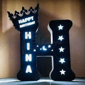 Personalized birthday special neon