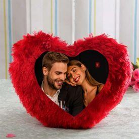 Heart Red Cushion