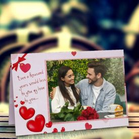 My Love Personalized Greeting Card