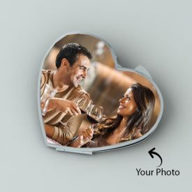 Celestial Love: Personalized Mirror