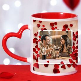 Customized Red mug