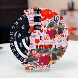 Personalized Love Calendar