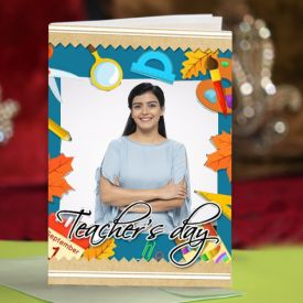 Teacher's Day Personalized Greeting Card