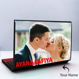 Acrylic Laptop Skin Personalized With Photo
