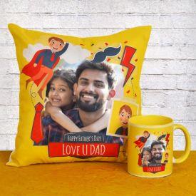 Personalized Cushion N Mug