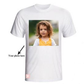 Personalized Round Neck T-Shirt