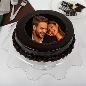 Truffle photo Cake