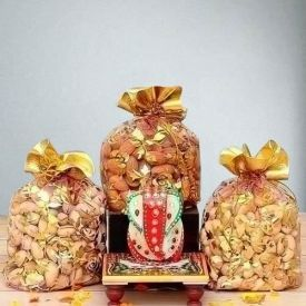 Dry Fruits with Lord Ganesh