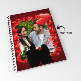 Classy Personalized 160 Pages Notebook