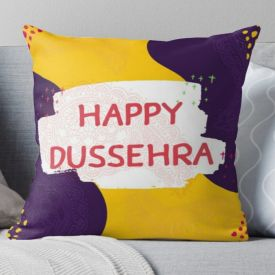 Happy Dussehra Cushion