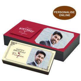 Personalized Chocolate with Name and Photo