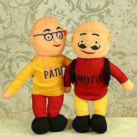 Muren Motu - Patlu Stuffed Toy