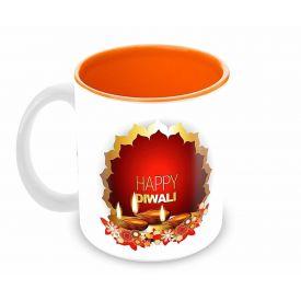 Happy Diwali decoration mug