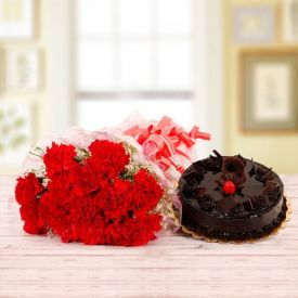 Dark Chocolate With Carnation