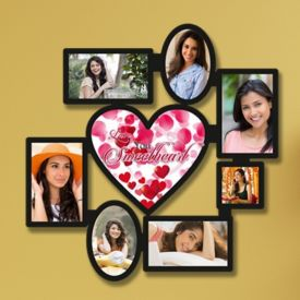 Wooden Heart Collage