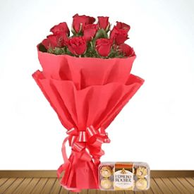 Roses and Ferrero Rocher