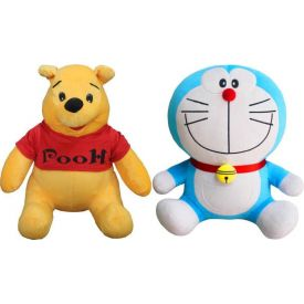 Pooh With Doremon