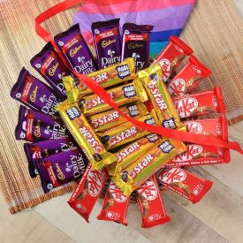 Chocolates Basket 25 pcs
