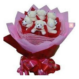 Teddies Bouquet