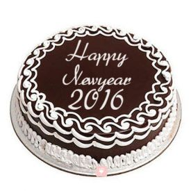 1 kg New Year Chocolate Cake
