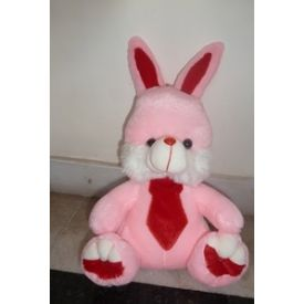 Small Pink Rabbit Soft Toy (12 - 15 inch)