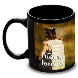 Personalized Photo Mug (Black)