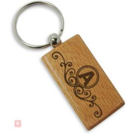 "Alphabet ""A"" Key chain"