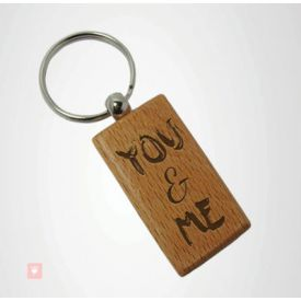 You and Me Key chain.