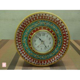 Round Marble Clock