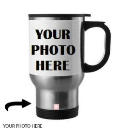 Customized Steel Mug With Photo