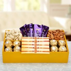 Chocolates with Sweets Combo
