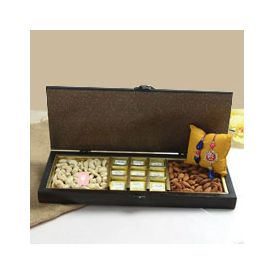 Dry Fruits Sweets Rakhi