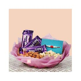 Rakhi Dairy Milk Dry Fruits