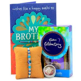 Evil Eye Rakhi & Celebrations Hamper