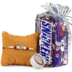 Choco Delight Rakhi Hamper