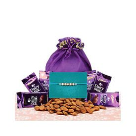 Rakhi chocolates Almonds