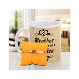 Lovely Mug And Rakhi