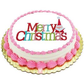 Merry Christmas Butter Scotch Cake