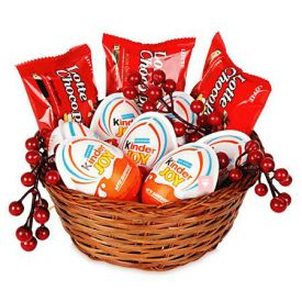 Basket of Kid Joy Treats