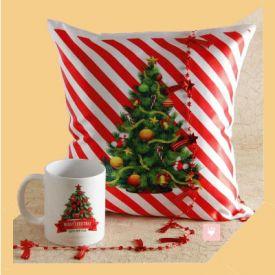 White Pillow With Mug