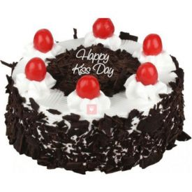 Kiss Day Black forest cake 1/2 kg