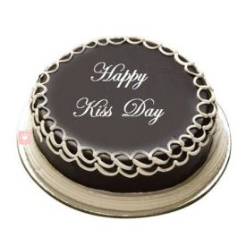 Kiss Day Chocolate Cake