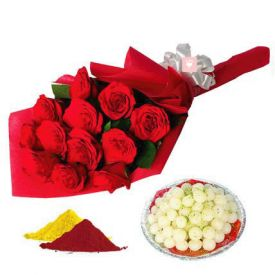 Red Roses, Rasgulla with gulal